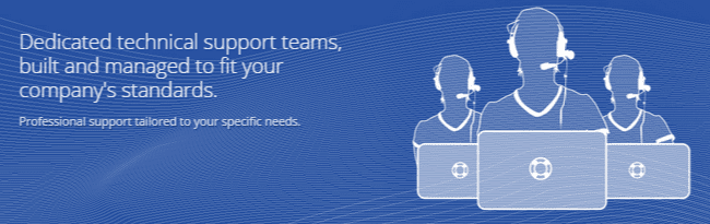 Remsys dedicated technical support teams