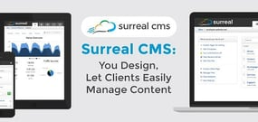 Surreal CMS: You Design, Let Clients Easily Manage Content