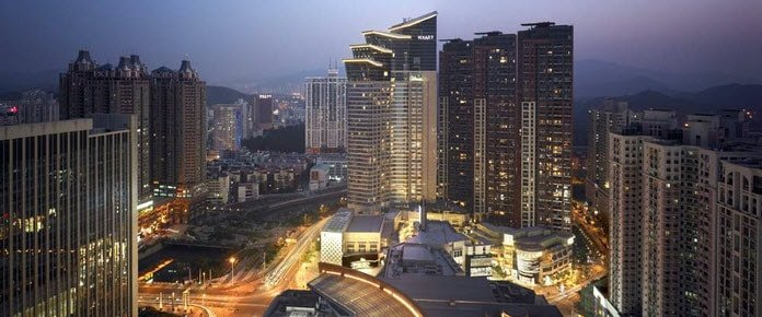 HostingCon China 2015 at Grand Hyatt in Shenzhen, China