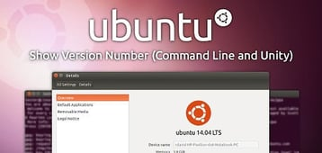 Ubuntu — Show Version Number (Command Line and Unity)