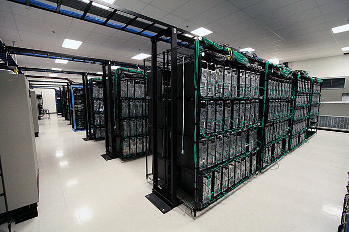A photo of one of Liquid Web's 3 datacenters