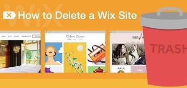 How To Delete A Wix Site Payments Content Domains Hostingadvice Com Hostingadvice Com