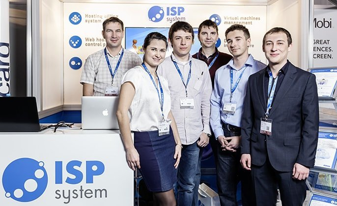 A few members of the ISPsystem team