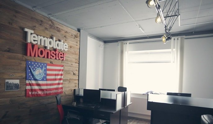 The TemplateMonster office