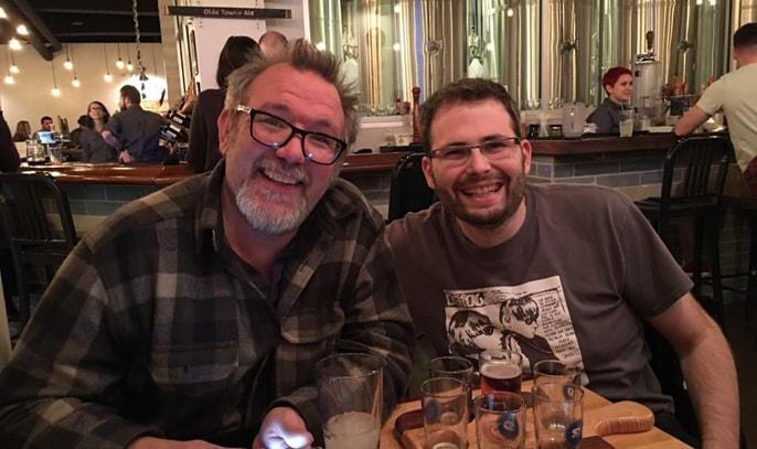Reclaim Hosting Co-Founders Jim Groom and Tim Owens