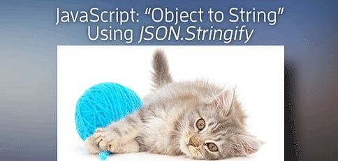 Javascript Object To String Tutorial