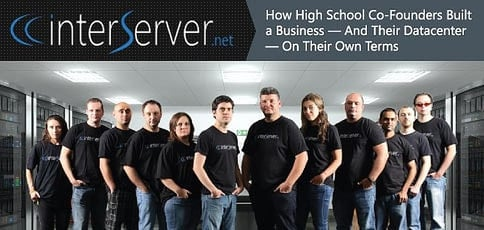 How Two High School Co Founders Built Interserver