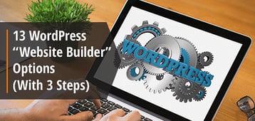 """13 WordPress """"Website Builder"""" Options (2020)"""