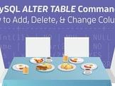 MySQL <em>ALTER TABLE</em> Commands: How to Add, Delete, &amp; Change Columns