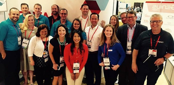 Group photo of Cayan team at RetailNOW