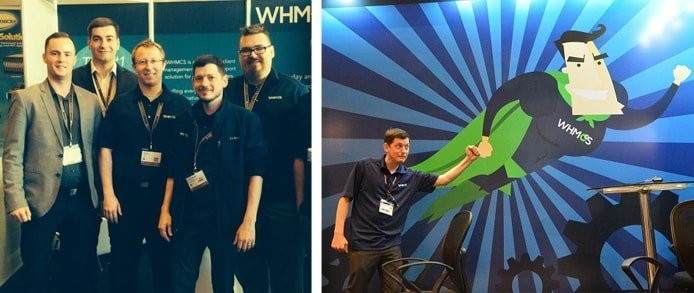 Collage of WHMCS team