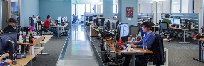 DreamHost's offices in Los Angeles