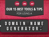 15 Best: Domain Name Generator Tools (Random / Short / Free)