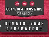 15 Best: Domain Name Generator Tools (Random / Short / Free)