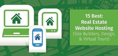 15 Best: Real Estate Website Hosting (Site Builders, Design, Virtual Tours)