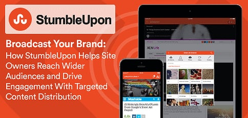Stumbleupon Helps Site Owners Reach Wider Audiences