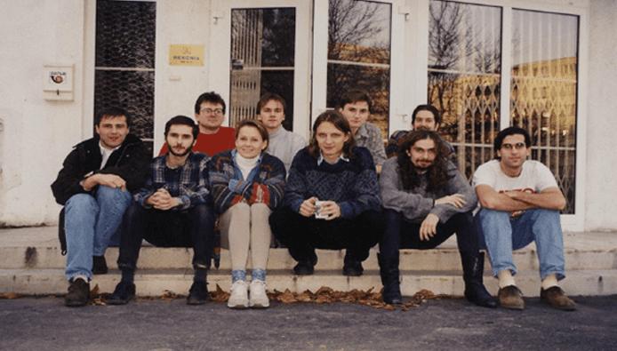 Photo of NetBeans's founding team