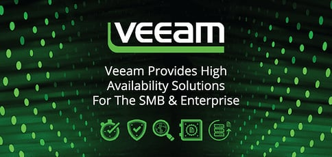 Veeam Provides High Availability Solutions For The Smb And Enterprise