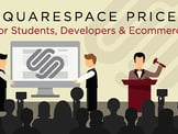 2020 Squarespace Pricing Table (Students, Developers, eCommerce)