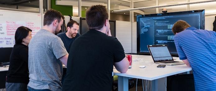 Photo of the CenturyLink cloud development team