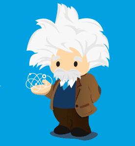 Salesforce Einstein AI logo