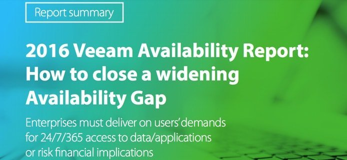 Cover of Veeam Availability Report
