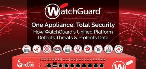 One Appliance, Total Security: CTO Corey Nachreiner Shares How WatchGuard Technologies™ Detects Threats & Protects Data