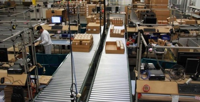 Photo of a Lenovo manufacturing facility