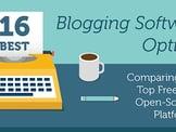 16 Best: Blog Software Comparison (Free / Open-Source Tools)