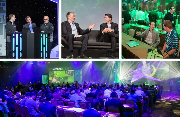 Photos from VeeamON 2016