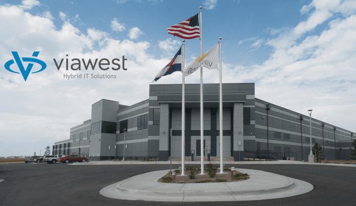 Photo of ViaWest's Denver datacenter