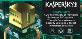 Kaspersky Lab — A 20-Year History of Protecting Businesses & Consumers Through Comprehensive Security Solutions & Threat Awareness Education