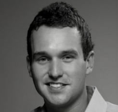 Portrait of Austin Miller, Director of Product Marketing for Oracle Marketing Cloud