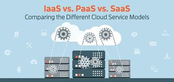 IaaS vs. PaaS vs. SaaS Cloud Models (Differences & Examples)