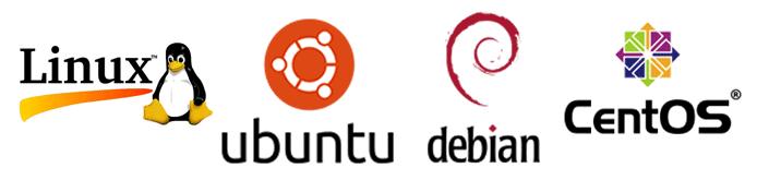 Linux OS Logos