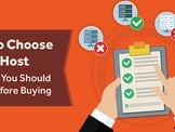 5 Expert Tips: How to Choose a Web Host & Top 6 Services