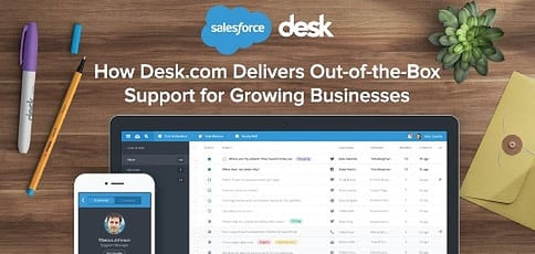 How Desk.com Helps Fast-Growing Businesses Deliver Comprehensive Omnichannel Support Services to Expanding Customer Bases