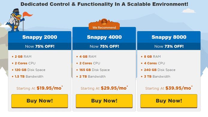 HostGator pricing screenshot