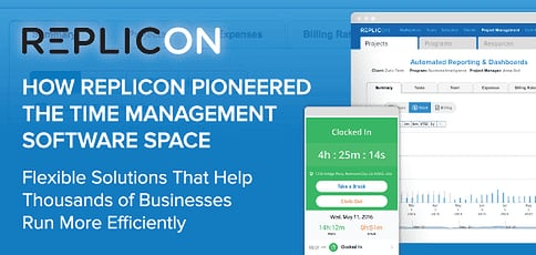 Replicon Software Helps Businesses Manage Time And Run Efficiently