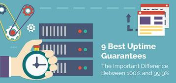 "9 Best ""Uptime Guarantees"" in Hosting (Get 100% Uptime Guaranteed)"