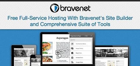 Free Full Service Hosting With Bravenet