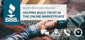 How the Better Business Bureau is Bringing a Century of Experience to Help Build Trust Between Buyers and Sellers in the Online Marketplace