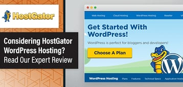 HostGator WordPress Review 2020 — Hosting Ratings From Web Experts
