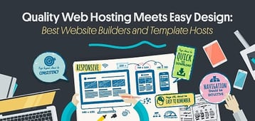 10 Best: Website Hosting with Templates & Free Site Builders (2020)