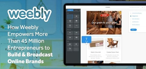 How Weebly Empowers Entrepreneurs To Build And Broadcast Brands Online