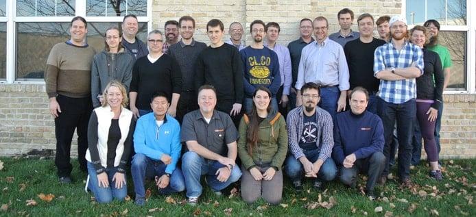 Photo of the CodeWeavers team