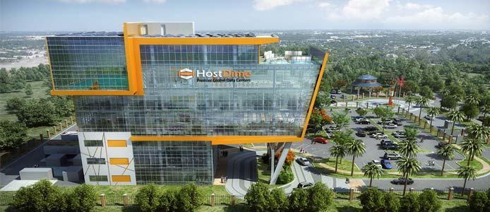 HostDime datacenter rendering