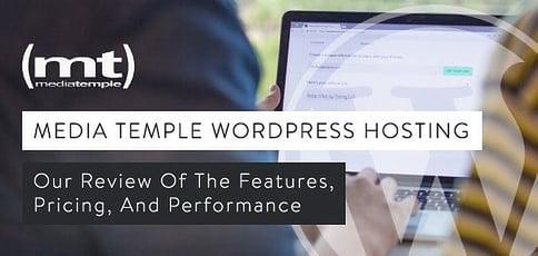 Media Temple Wordpress Review