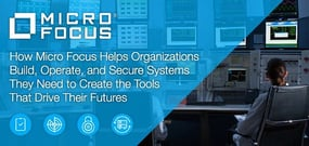 How Micro Focus Helps Organizations Build, Operate, and Secure the Systems They Need Today and Create the Innovations That Drive Their Futures