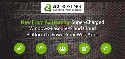New From A2 Hosting — A Super-Charged, Windows-Based Virtual Private Server Package and Cloud Platform to Power Your Business's Web Apps
